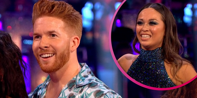 Strictly's Neil Jones hits back at claim he 'laughed' at ex Katya Jones' fall on live show