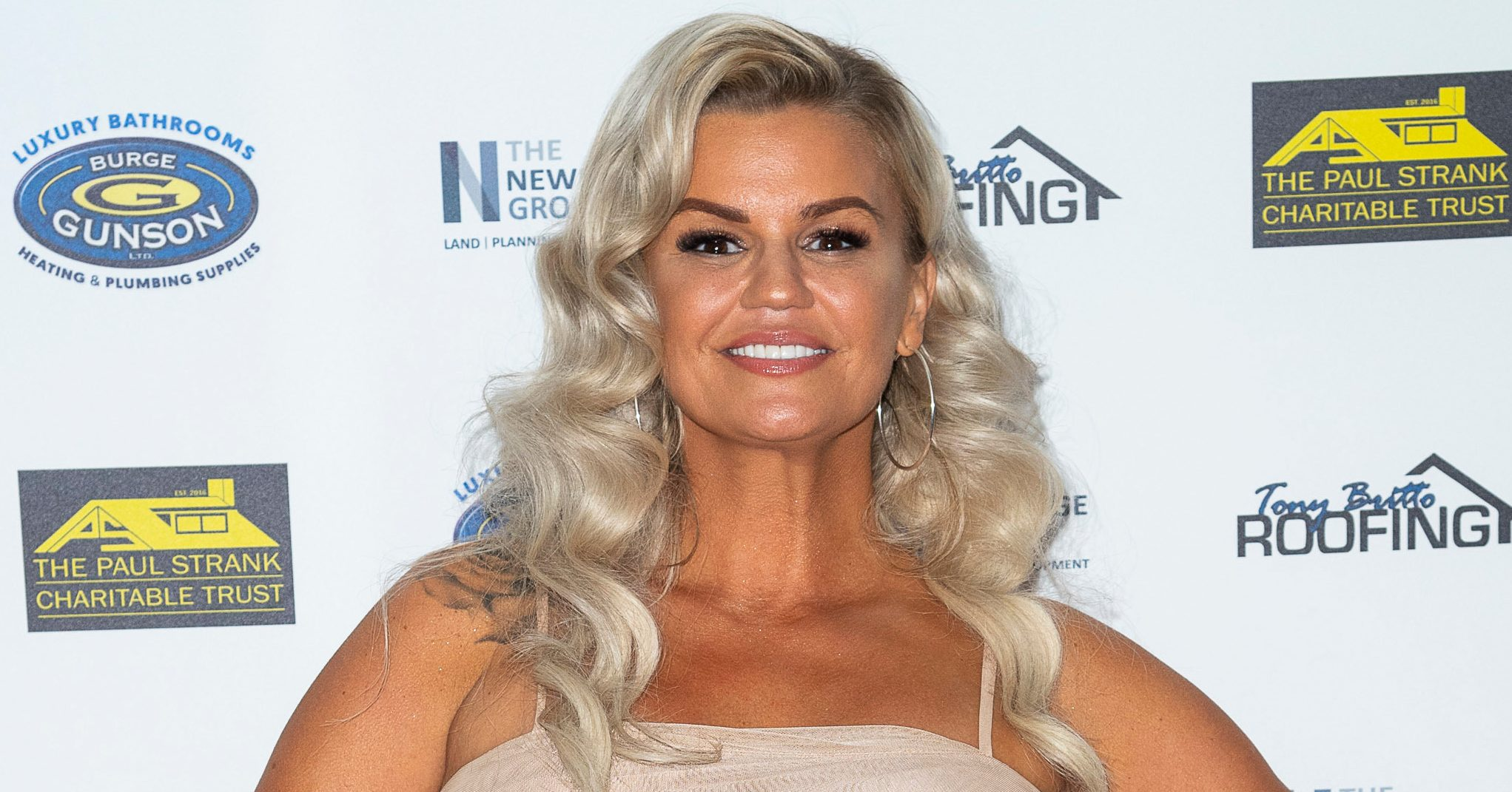 Kerry Katona shows off her sensational toned bod