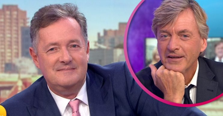 Piers Morgan and Richard Madleley