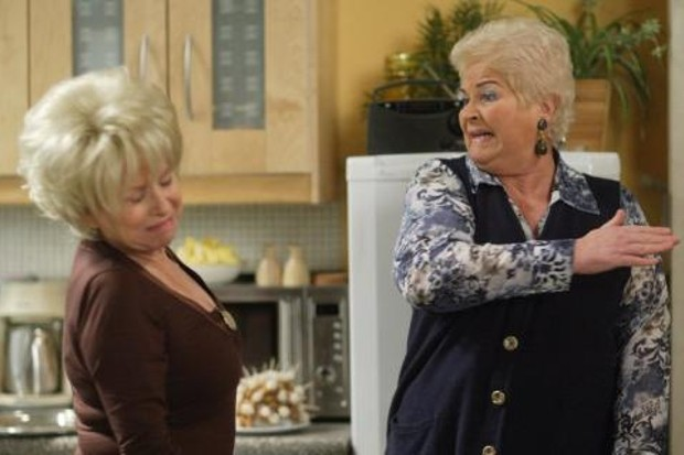 Pat Butcher Peggy Mitchell EastEnders