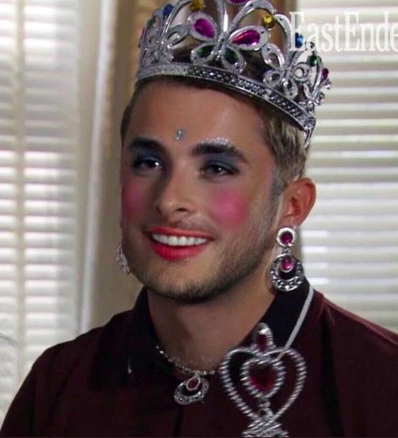 Ben Mitchell make-up tiara