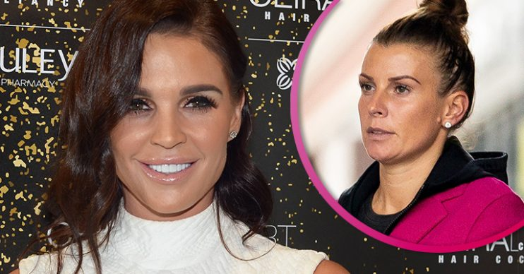 Danielle Lloyd and Coleen Rooney