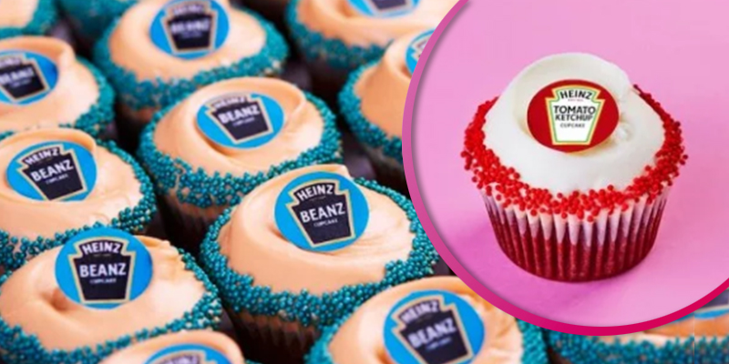 Bakery launches baked bean and tomato ketchup flavoured cupcakes