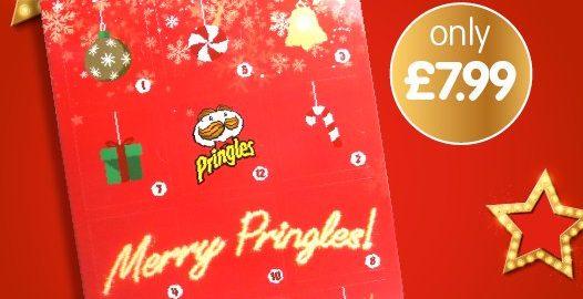 Merry crisp-mas! B&M brings back its Pringles advent calendar for 2019