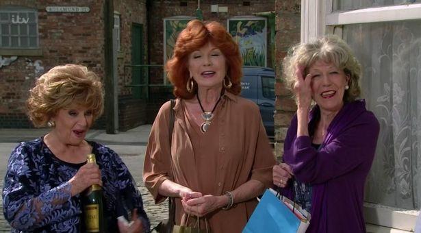 Rita, Claudia and Audrey
