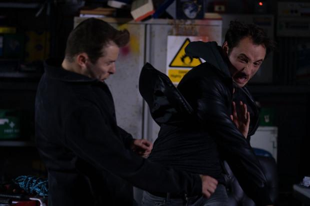 Martin punches Ben