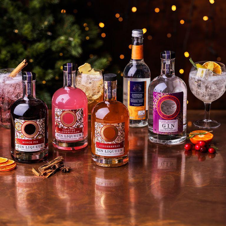 Asda festive gin