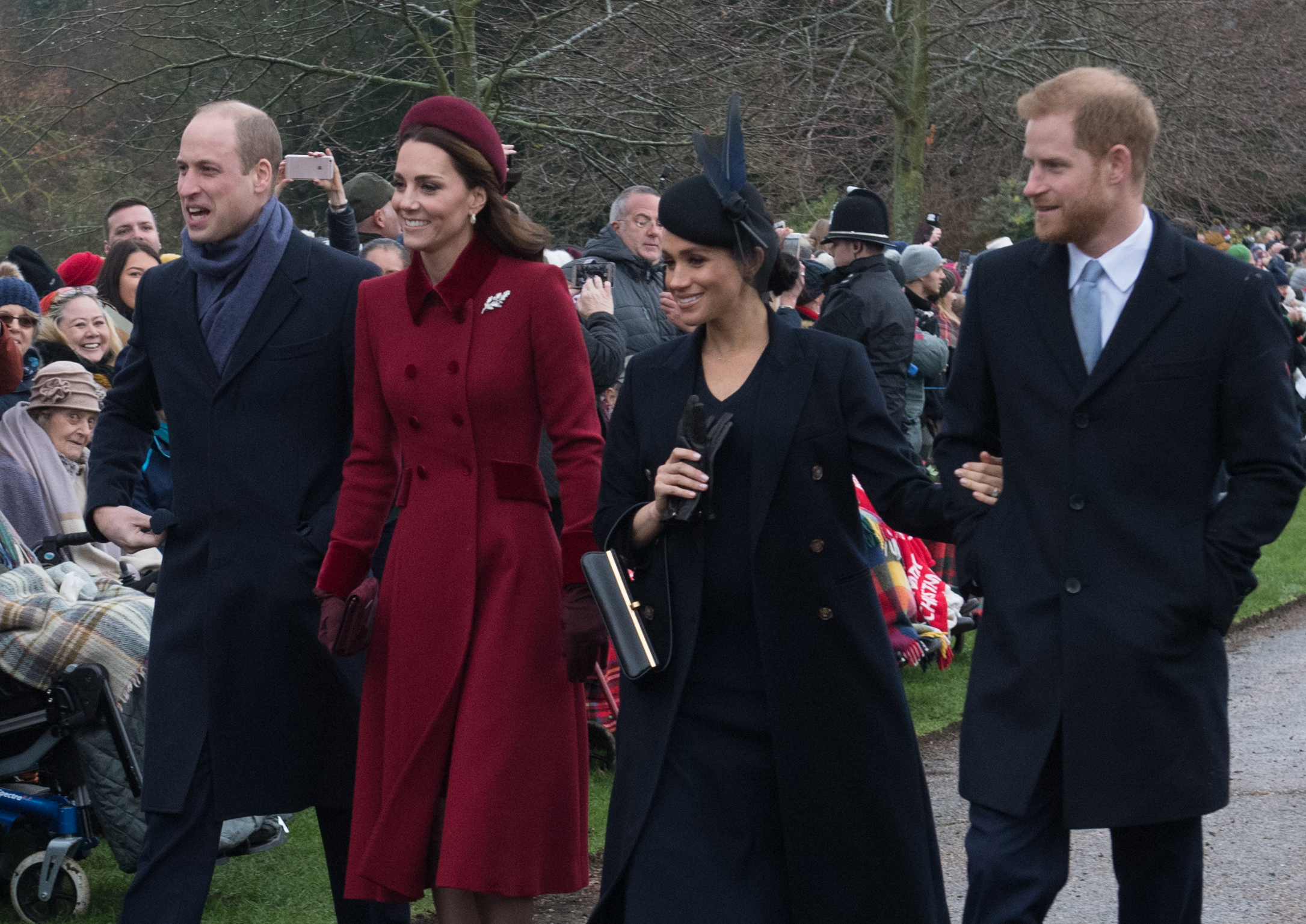 Prince Harry and Meghan Markle 'set to meet Prince William and Kate Middleton in person for first time since rift'