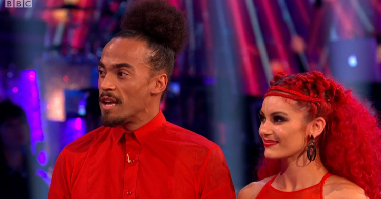 Dev Griffin and Dianne Buswell