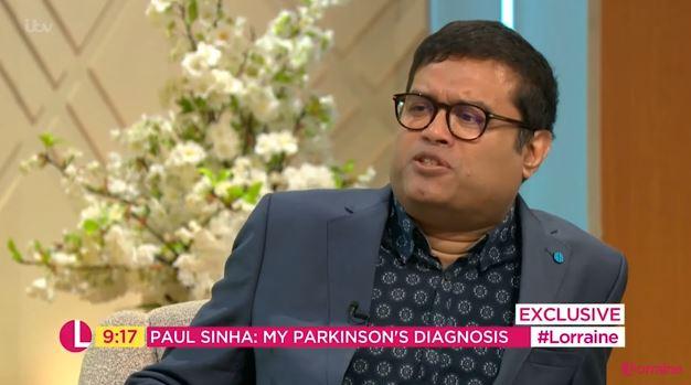 Paul Sinha on Lorraine