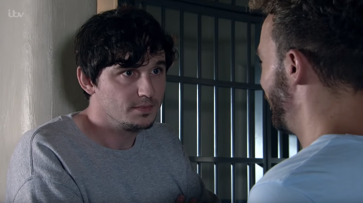 Coronation Street casts Skins and Scott and Bailey star Liam Boyle as David Platt's cellmate Abe