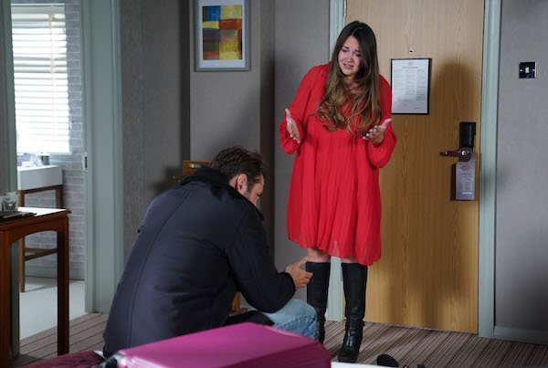 Viewers stunned as Lacey Turner returns to EastEnders as Martin ENDS his marriage to Stacey with shock revelation