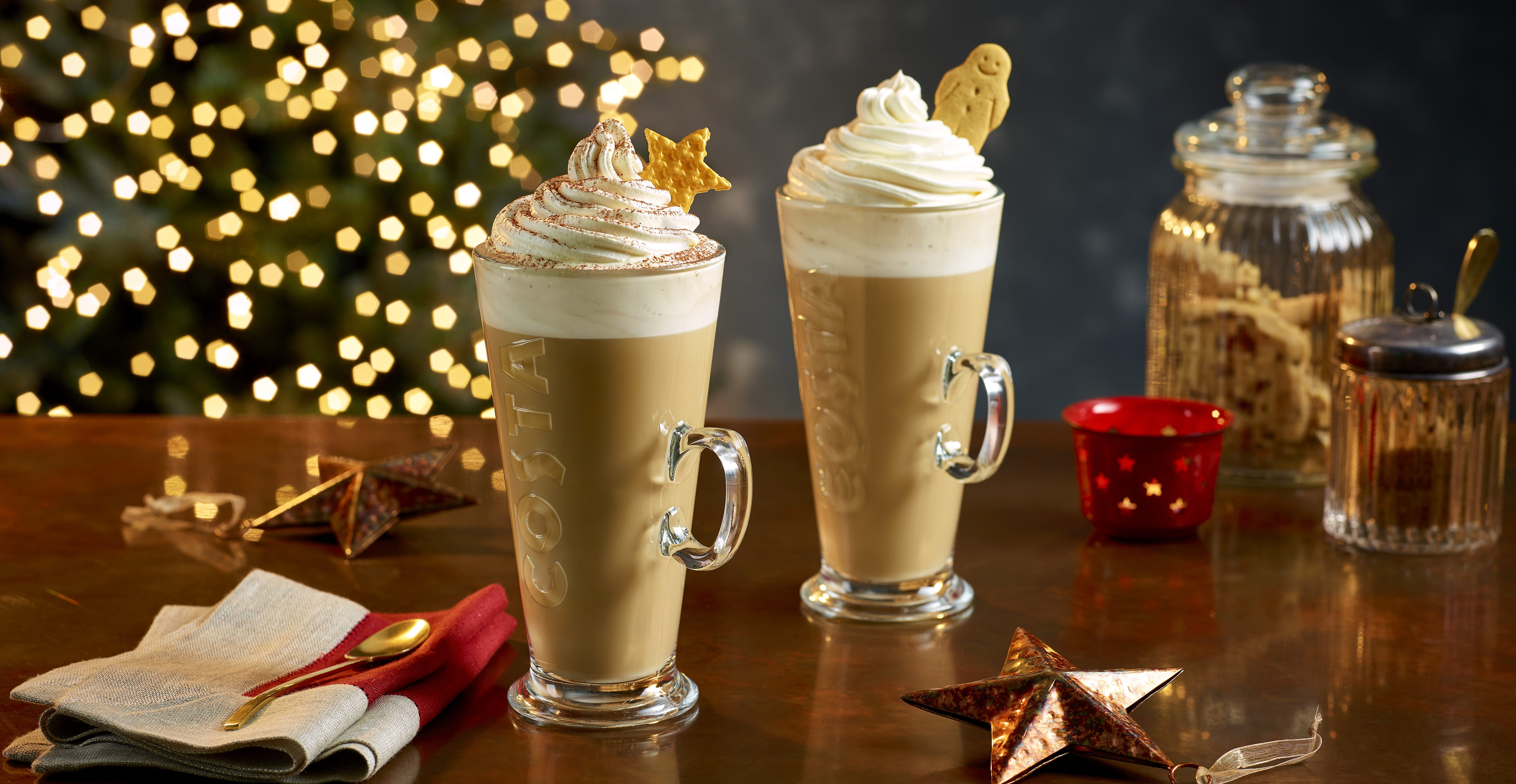 Costa Coffee announces new Irish Velvet range as it unveils its Christmas menu