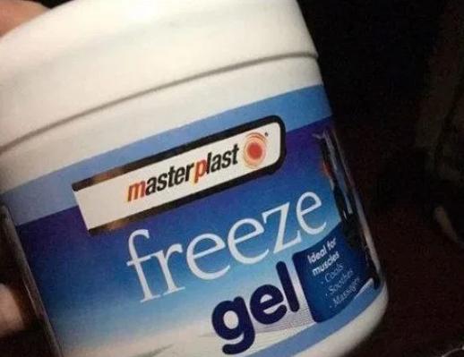 Freeze gel