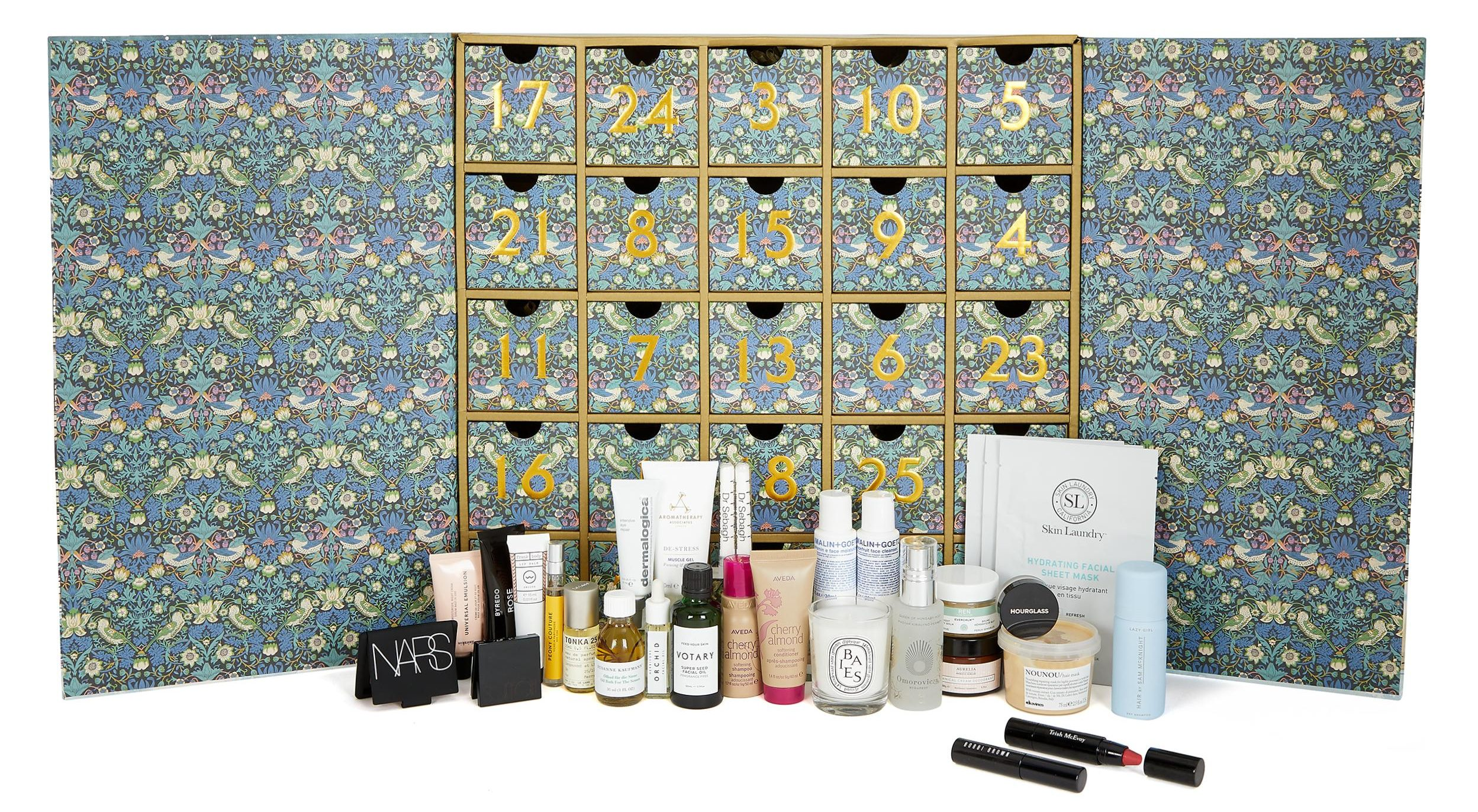 Liberty launches its £215 beauty Christmas advent calendar