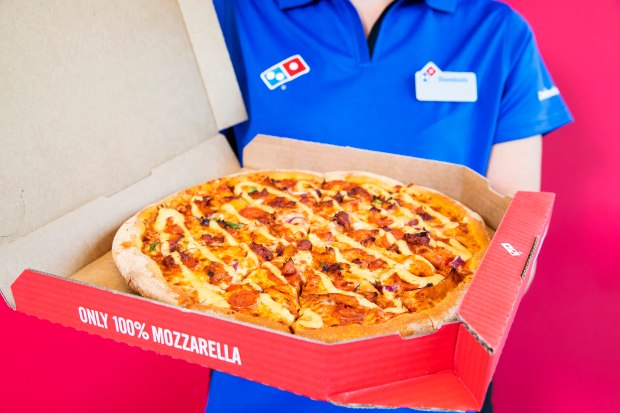 Get £20 worth of Domino's for £10 this Sunday