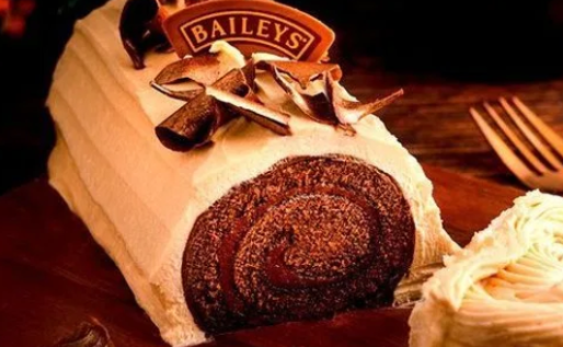 Baileys Chocolate Yule Log