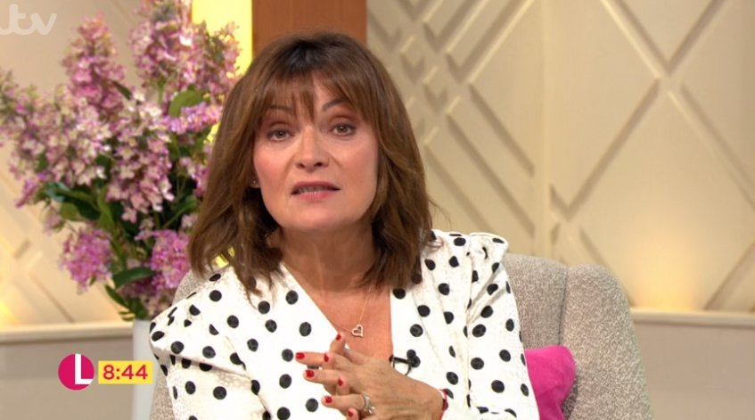 Lorraine Kelly brands Caprice Bourret's Dancing On Ice exit 'very strange'