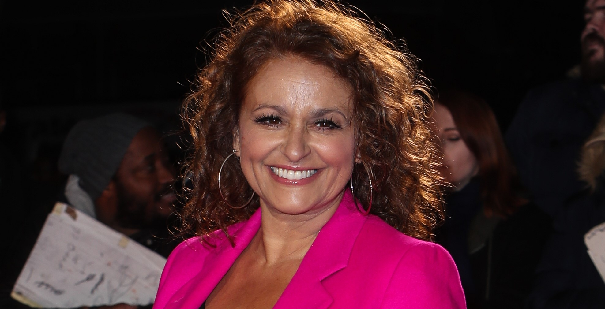 Nadia Sawalha 'embarrassed' by train commuter's remark about her appearance