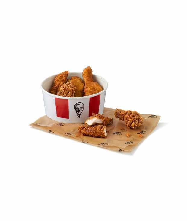 Mighty Bucket for One Credit: KFC