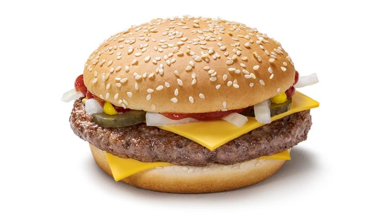 Quarter Pounder Credit: McDonalds