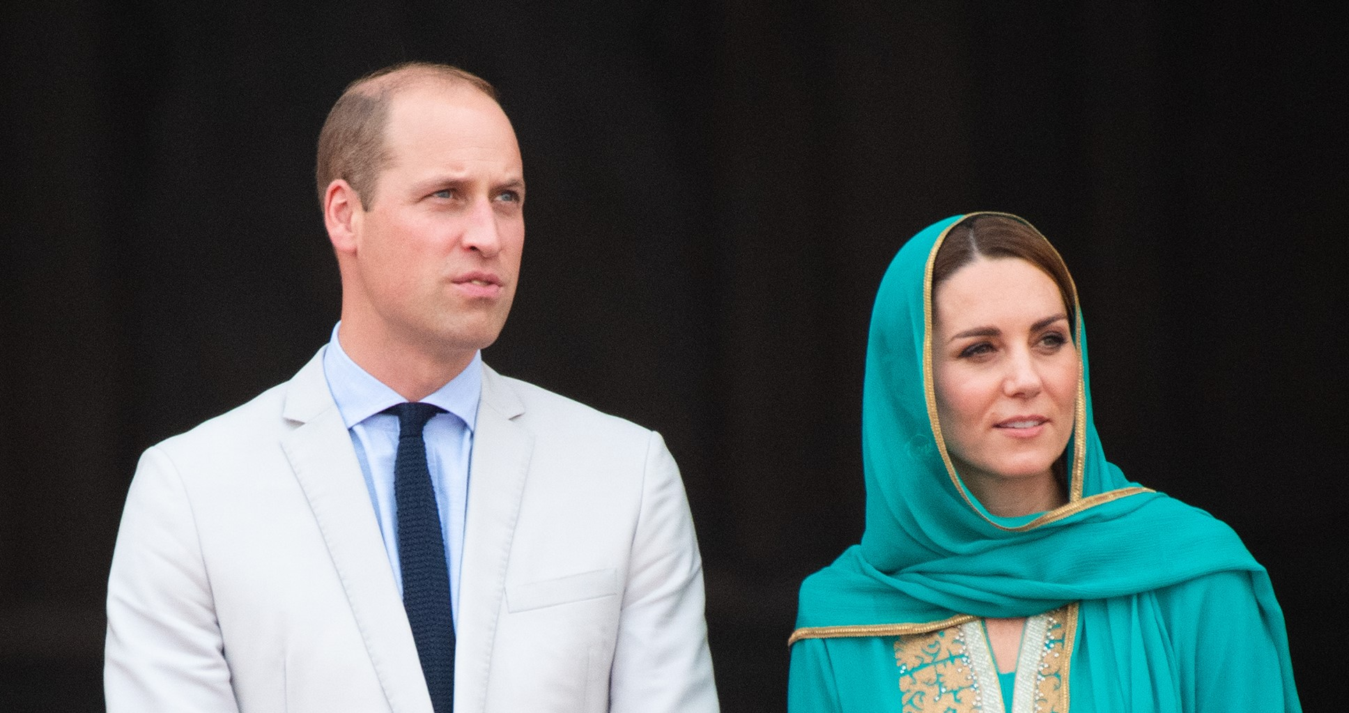 William and Kate's plane forced to abort landings twice as storms hit Pakistan