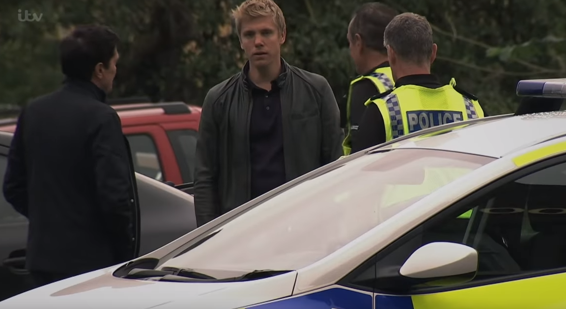 Emmerdale viewers heartbroken as Robert Sugden hands himself into the police