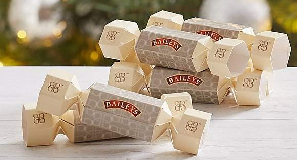 Start your festive feast with a boozy bang with Baileys Christmas crackers