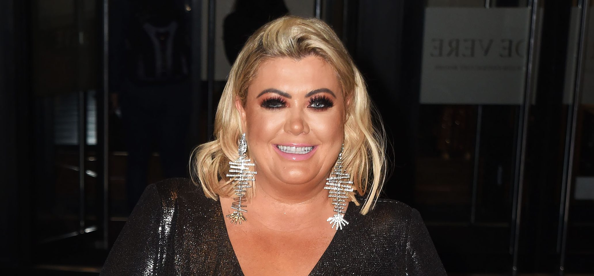 Gemma Collins debuts new hair as she shows off her weight loss in London