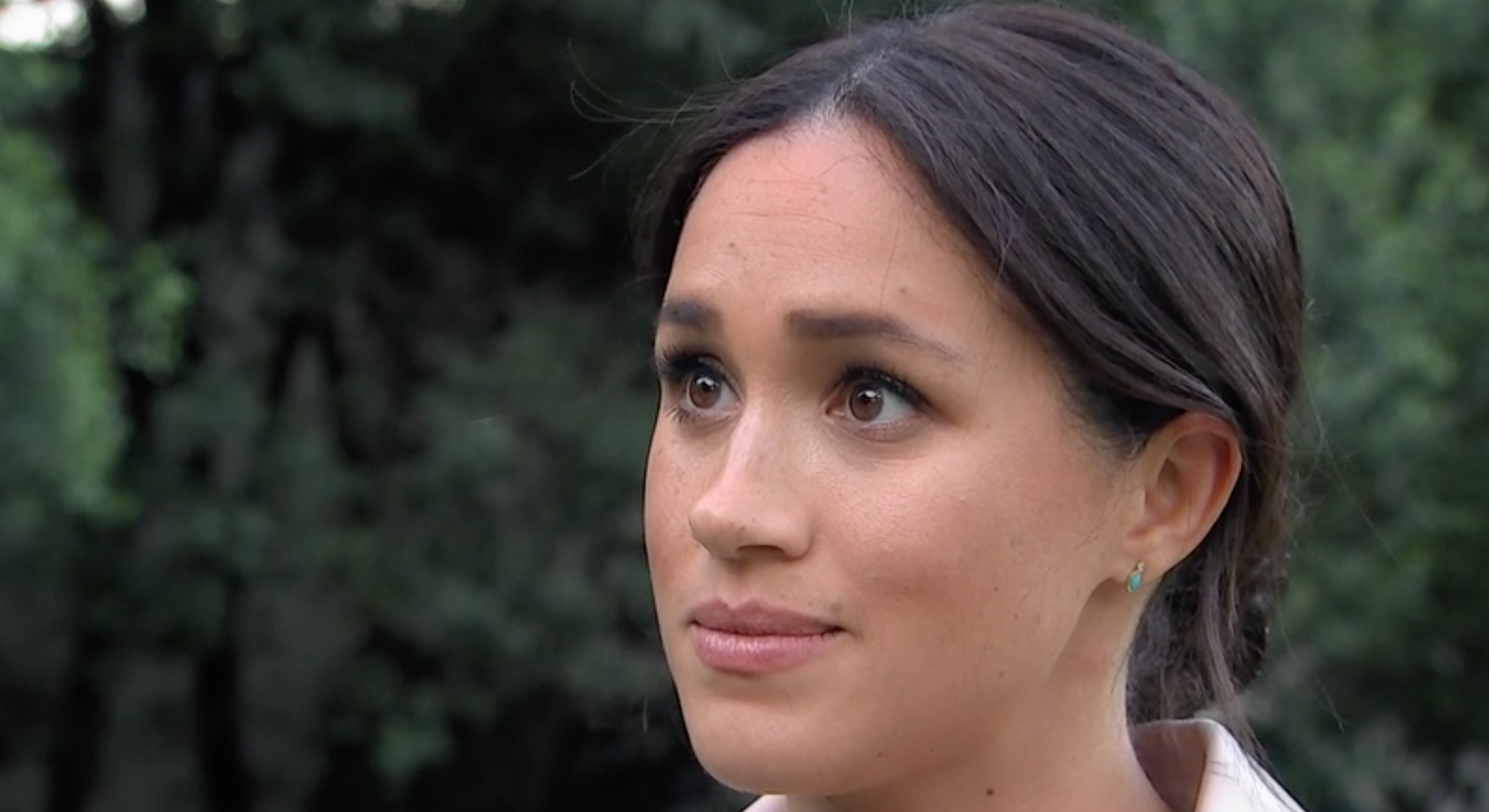 Meghan Markle Chokes Back Tears When Asked How She's Coping