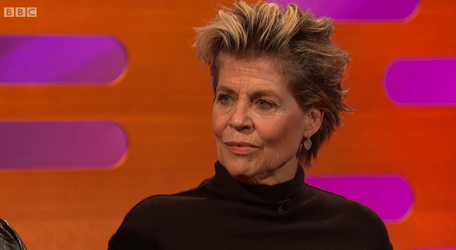 Fans divided over Linda Hamilton's appearance on Graham Norton