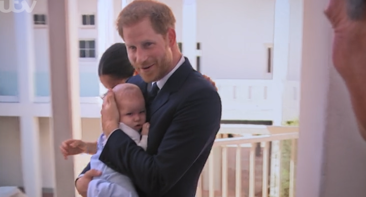 Prince Harry and baby Archie