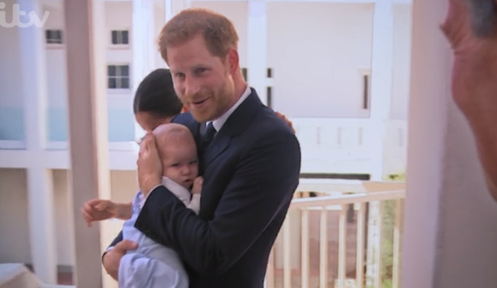 Royal fans spot adorable moment between Harry and Archie as they're caught off-guard