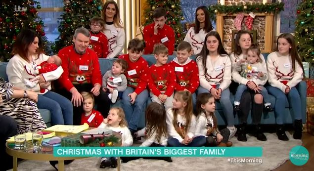 Britain's biggest family reveal they are expecting baby number 22