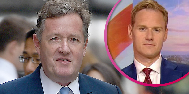 Piers Morgan and Dan Walker in vicious name-calling spat over Meghan