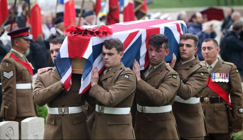 Long Lost Family viewers in tears as WW1 soldiers are finally laid to rest