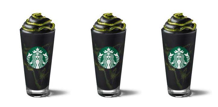 Customers complain Starbucks' Halloween Phantom Frappuccino is turning their poo black