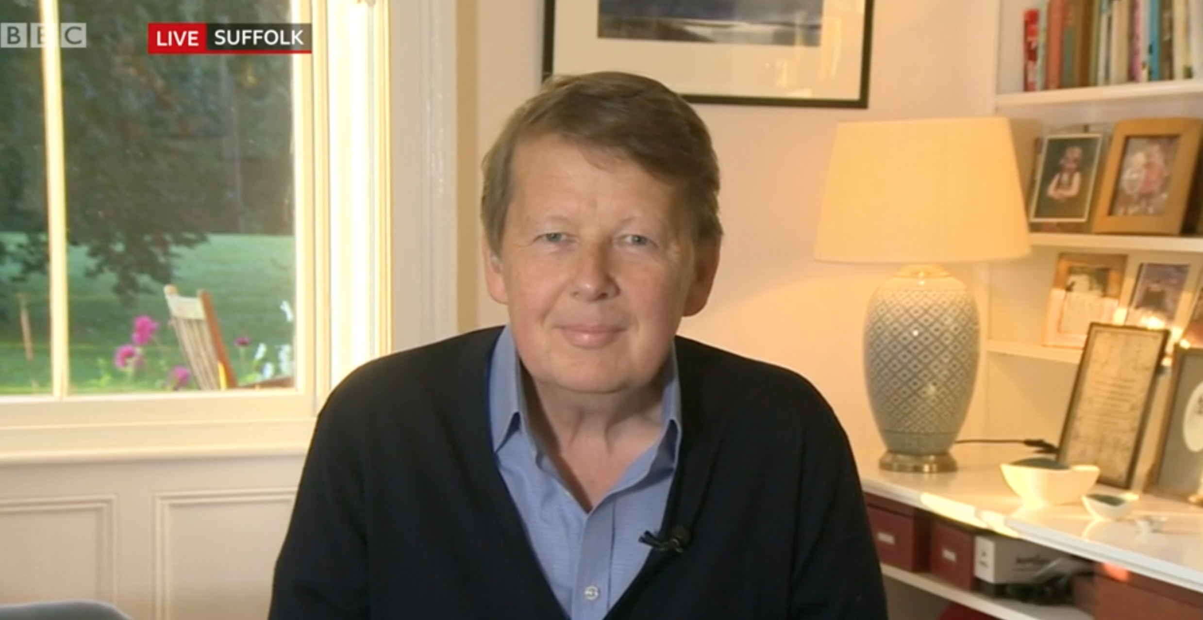 Bill Turnbull says love is carrying him through his prostate cancer battle