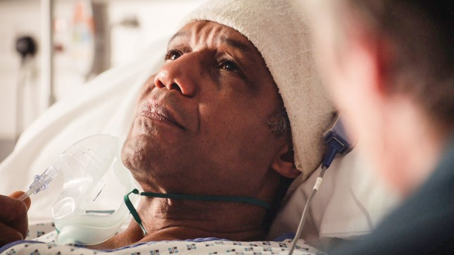 Holby City fans divided by 'trippy' episode as Ric Griffin underwent brain surgery