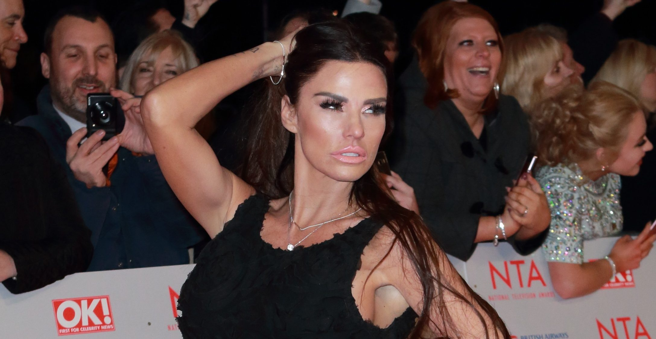 Katie Price breaks her silence after toyboy Charles Drury offered cruel sex rating