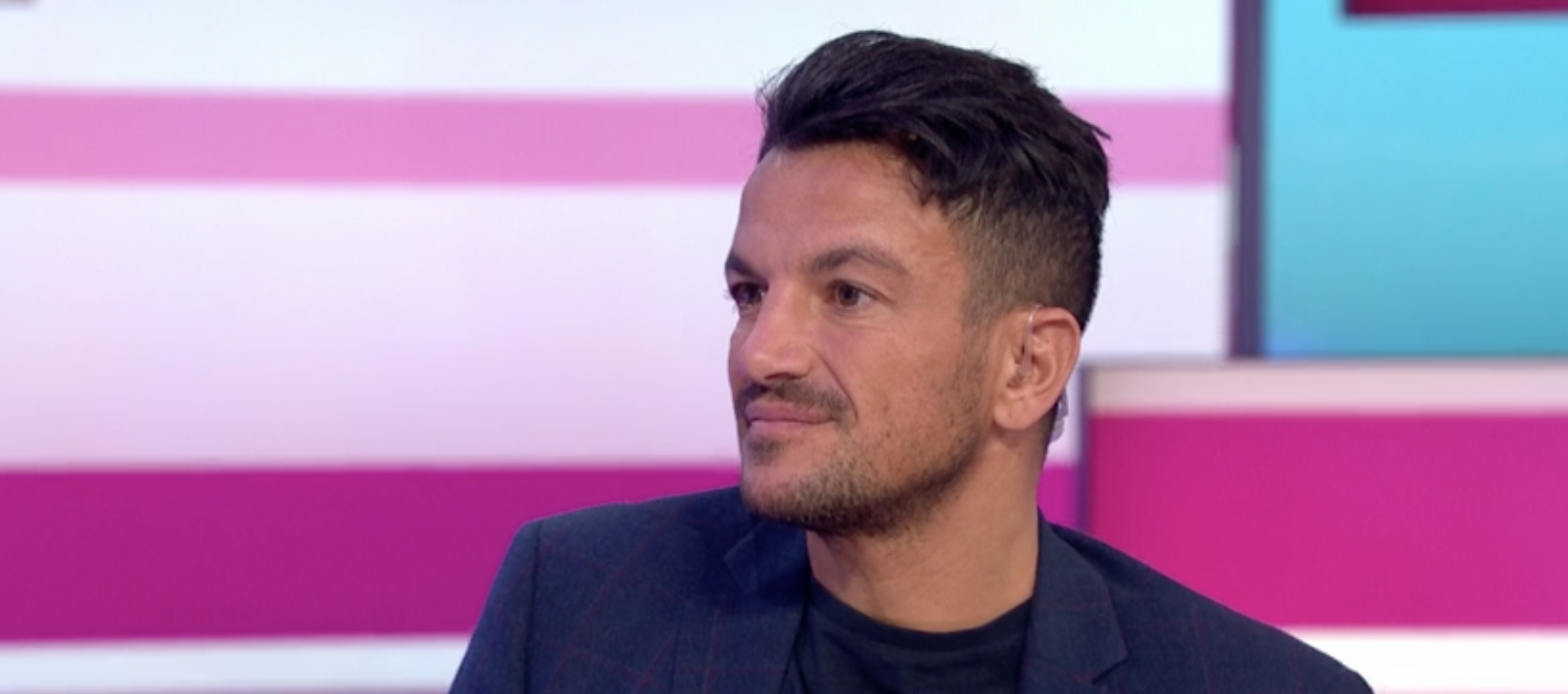Peter Andre reveals painful reason why he won't style his hair naturally