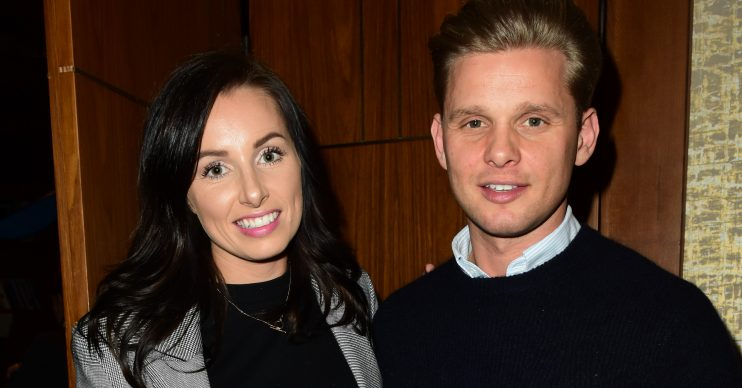 Jeff Brazier and wife