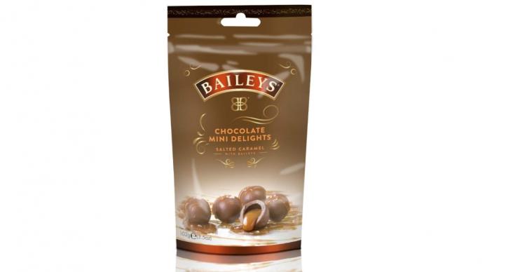 Baileys salted caramel bites