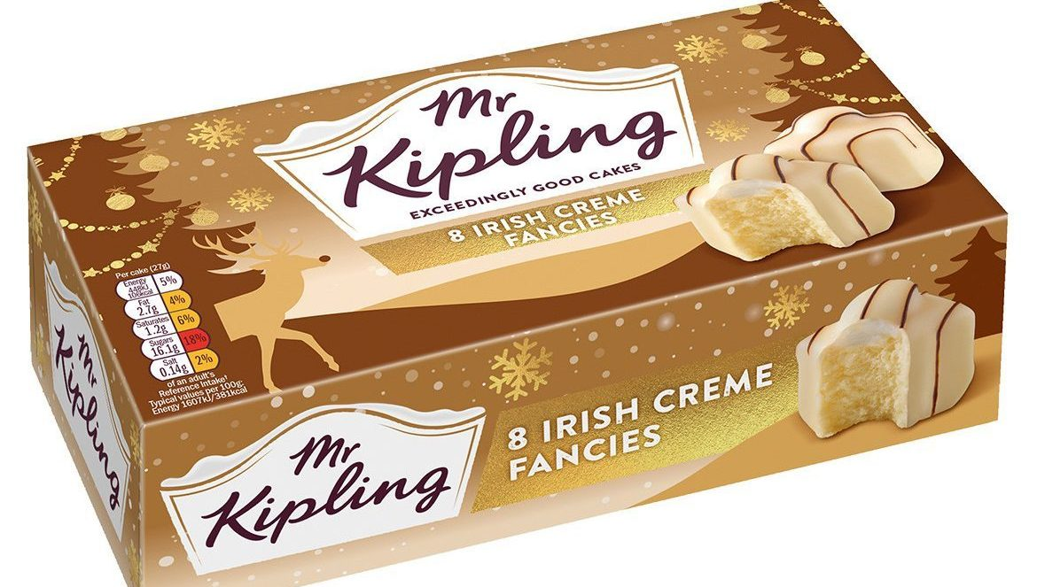 Mr Kipling launches Irish Creme Fancies just in time for Christmas
