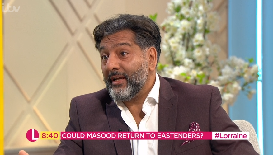 EastEnders' Nitin Ganatra teases return for Masood Ahmed