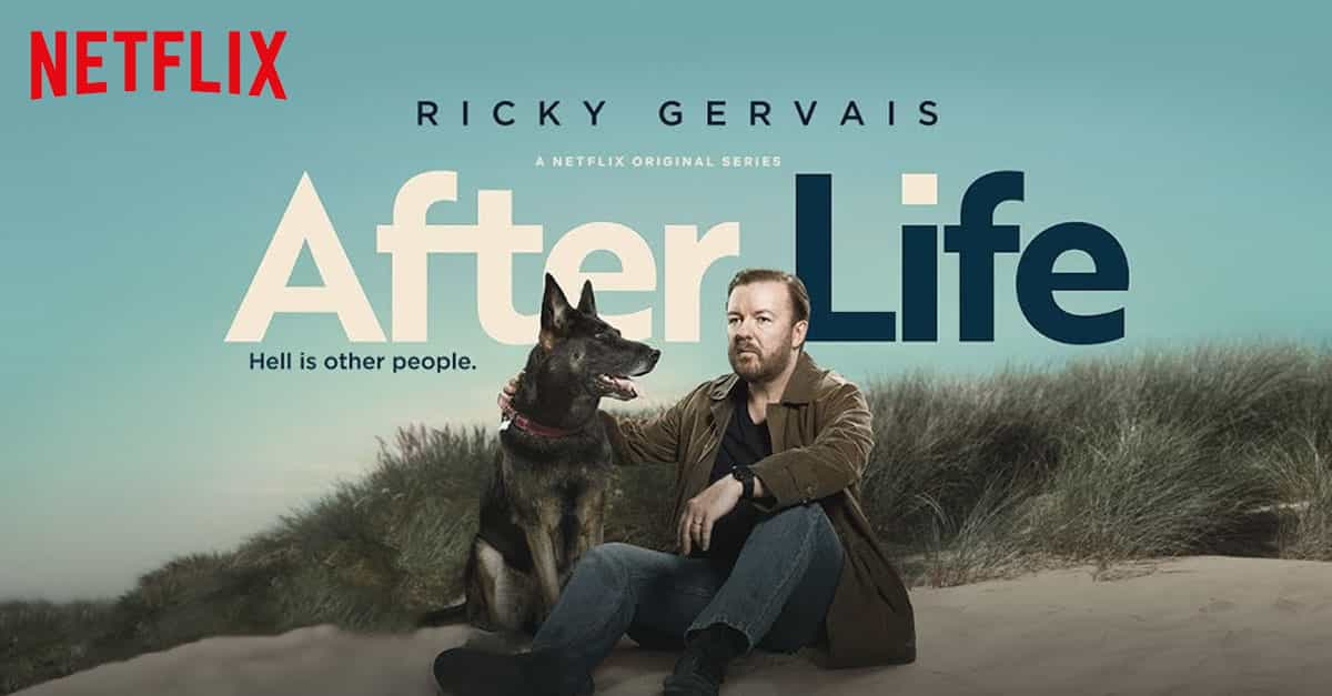 Ricky Gervais teases second series of Netflix's After Life with new photo