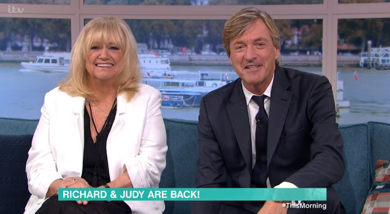 Judy Finnigan and Richard Madeley set for This Morning return this Friday