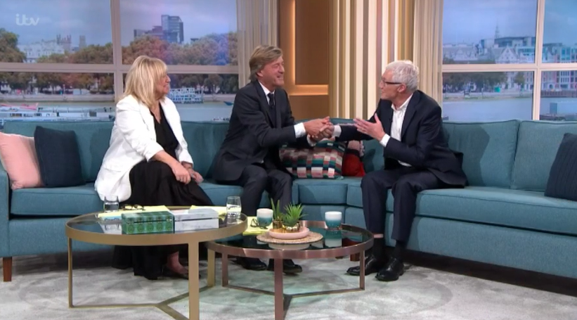 Richard and Judy on This Morning - Credit: ITV