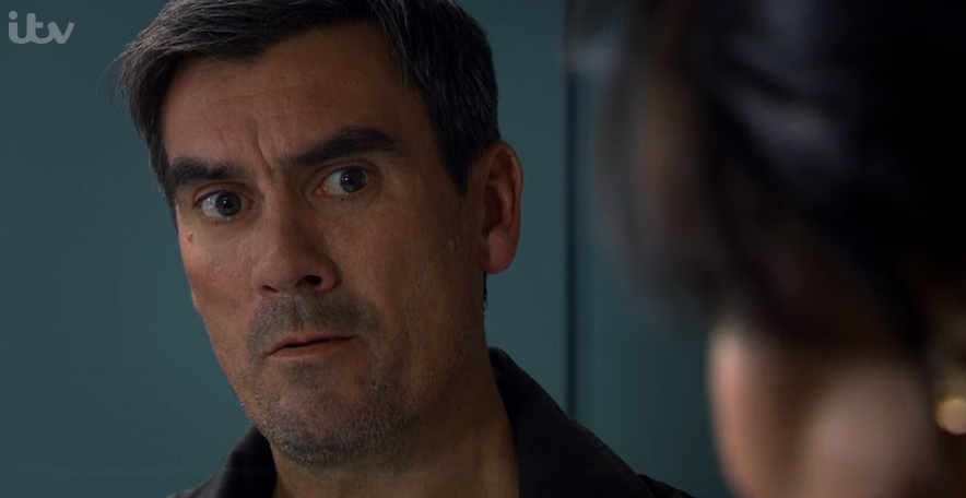 Emmerdale viewers divided as Cain Dingle throws wife Moira out of her own home
