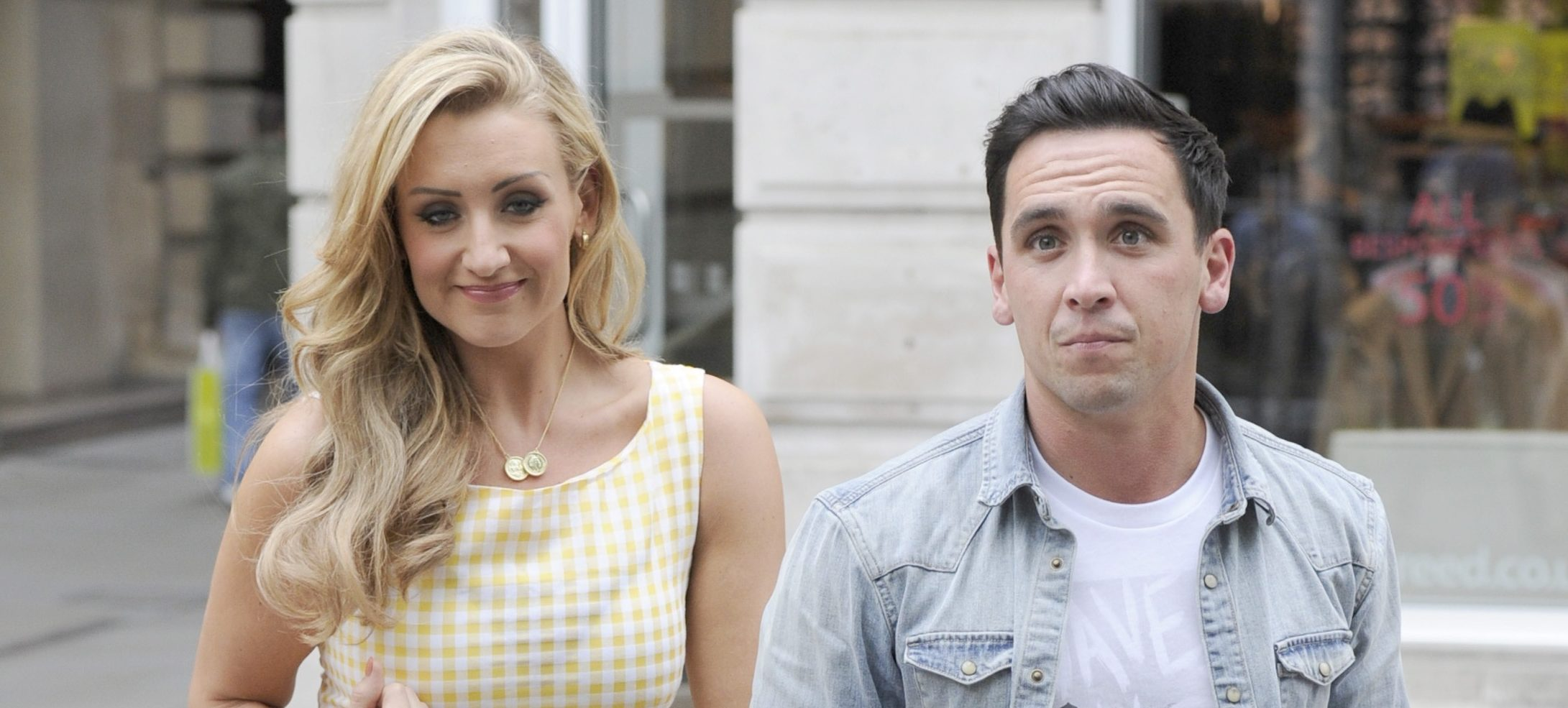 Strictly: Catherine Tyldesley bans her husband from dancing with her